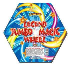 Magical Firework Wheels
